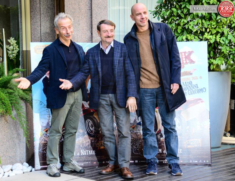 Giacomo Poretti, Giovanni Storti, Aldo Baglio - Roma - 13-12-2016 - Aldo, Giovanni e Giacomo verso l'addio, fan in rivolta sul web