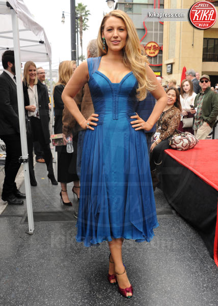 Blake Lively - Hollywood - 15-12-2016 - Reynolds-Lively: le prime foto con le figlie sulla Walk of Fame