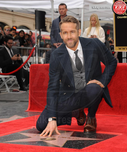 Ryan Reynolds - Hollywood - 15-12-2016 - Reynolds-Lively: le prime foto con le figlie sulla Walk of Fame
