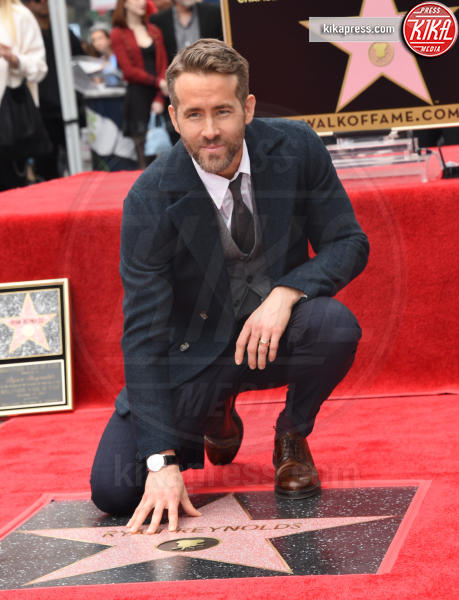 Ryan Reynolds - Hollywood - 16-12-2016 - Reynolds-Lively: le prime foto con le figlie sulla Walk of Fame