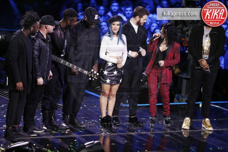 Soul System, Baby K, Alessandro Cattelan, Giusy Ferreri - Milano - 16-12-2016 - X Factor 10: lo show finale al Mediolanum