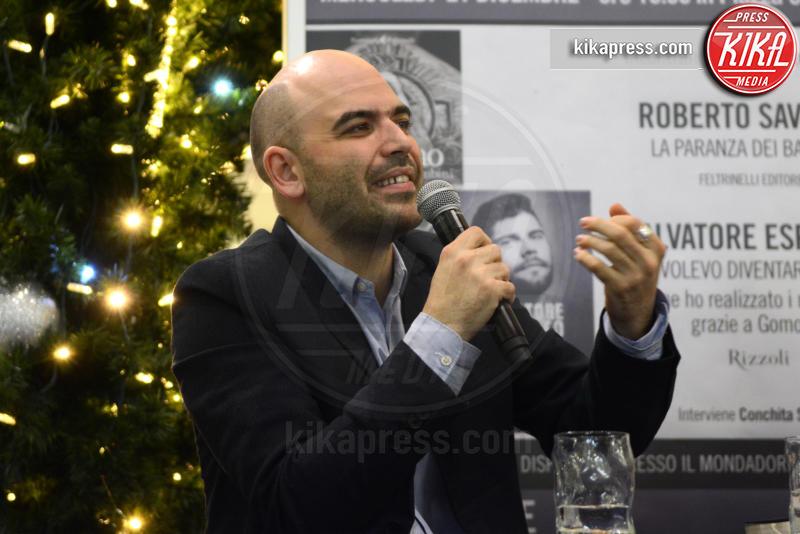 Roberto Saviano - Caserta - 21-12-2016 - Saviano-Esposito: