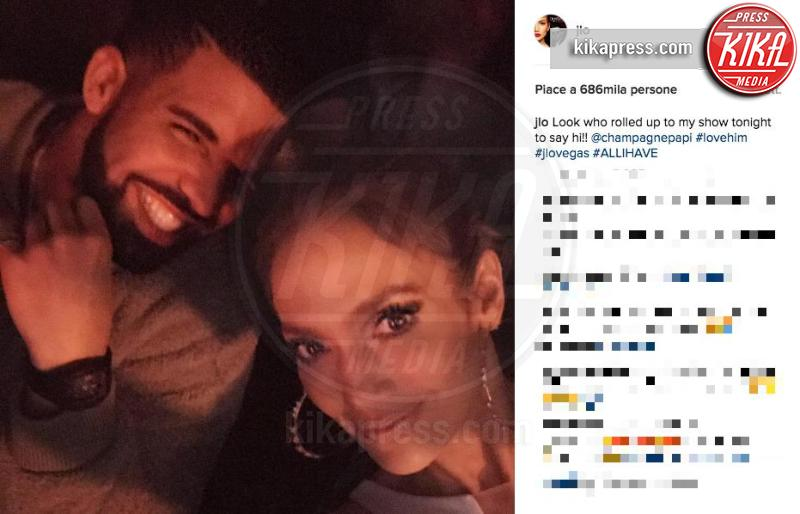 Drake, Jennifer Lopez - 22-12-2016 - Rihanna: epica reazione al selfie di Drake e J-Lo