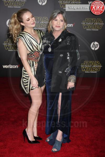 Billie Lourd, Carrie Fisher - Los Angeles - 15-12-2015 - Billie Lourd, prima intervista dalla morte di Carrie Fisher