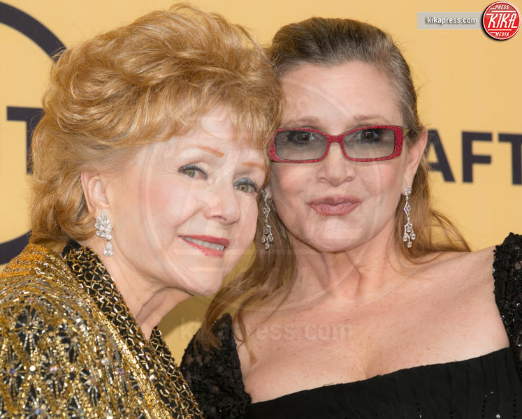Debbie Reynolds, Carrie Fisher - Los Angeles - 23-02-2017 - Carrie Fisher, pubblicato il certificato di morte ufficiale