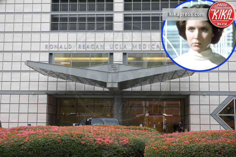 Ronald Reagan UCLA Medical Center, Carrie Fisher - Los Angeles - 23-02-2017 - Carrie Fisher, l'autopsia:
