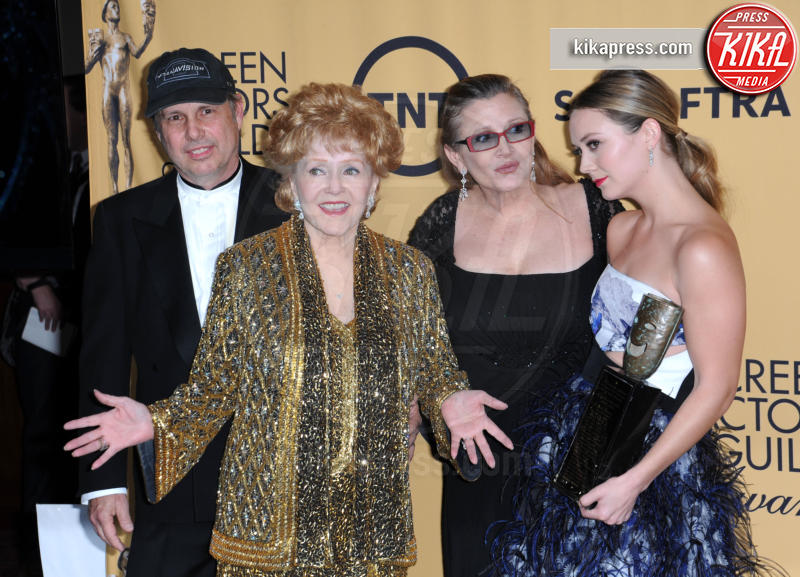 Billie Lourd, Todd Fisher, Debbie Reynolds, Carrie Fisher - Los Angeles - 25-01-2015 - Billie Lourd, prima intervista dalla morte di Carrie Fisher