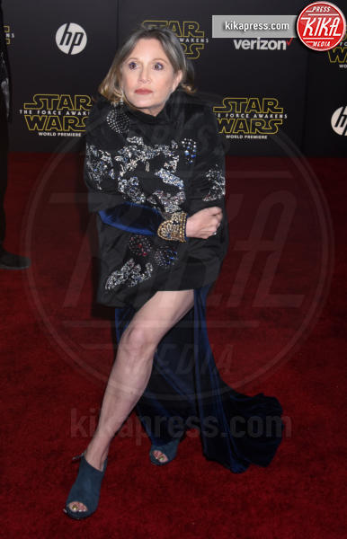 Carrie Fisher - Hollywood - 14-12-2015 - Carrie Fisher, pubblicato il certificato di morte ufficiale