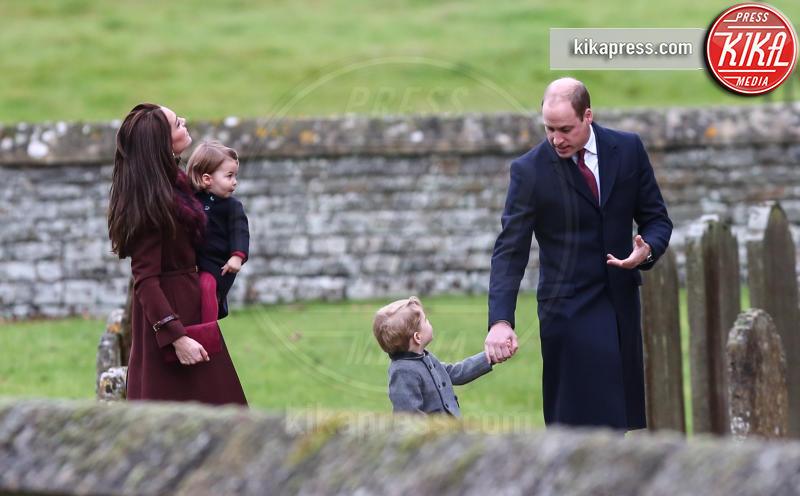 Principessa Charlotte Elizabeth Diana, Principe George, Principe William, Kate Middleton - Londra - 25-12-2016 - Principino George: le sette foto che lo hanno resto una star