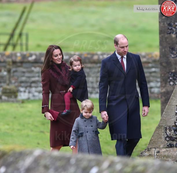 Principessa Charlotte Elizabeth Diana, Principe George, Principe William, Kate Middleton - Londra - 25-12-2016 - Pippa Middleton: tutti i numeri del matrimonio (da 300mila euro)