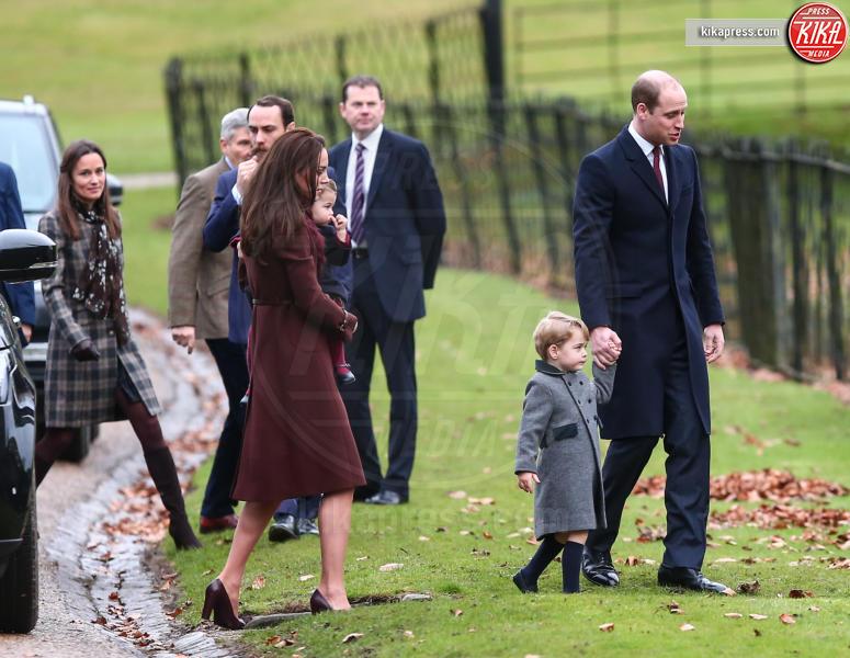 Principe George, Principe William, Kate Middleton - Londra - 25-12-2016 - Pippa Middleton: tutti i numeri del matrimonio (da 300mila euro)