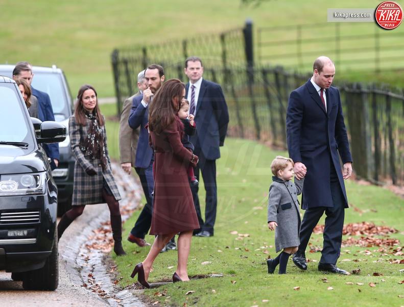 Prince William, Michael Middleton, Principe William, Kate Middleton, Pippa Middleton - Englfield - 25-12-2016 - Pippa Middleton: tutti i numeri del matrimonio (da 300mila euro)