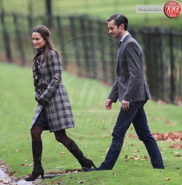 James Matthews, Pippa Middleton - Englfield - 25-12-2016 - Pippa Middleton: tutti i numeri del matrimonio (da 300mila euro)