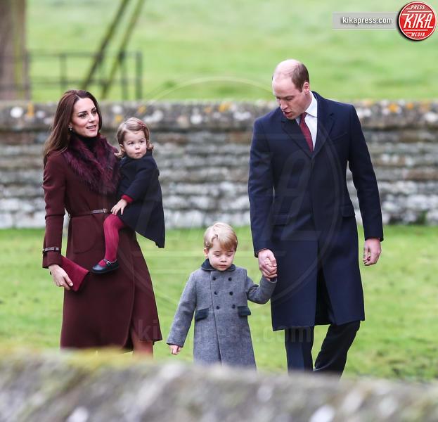 Prince George, Prince William, Principe William - Englfield - 25-12-2016 - Pippa Middleton: tutti i numeri del matrimonio (da 300mila euro)