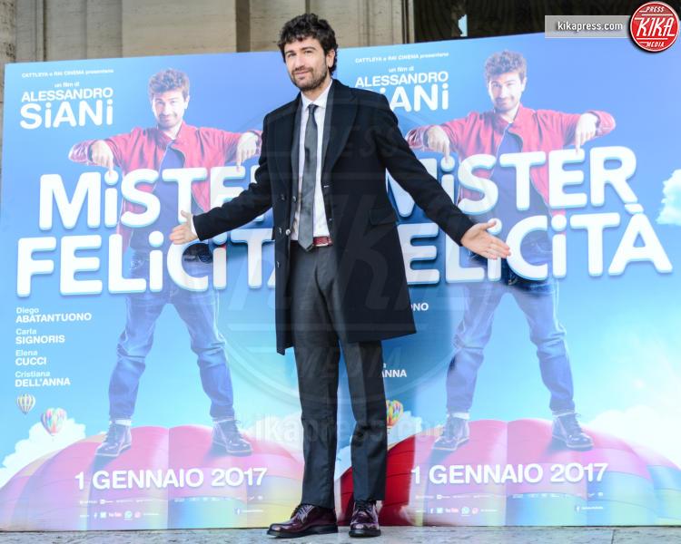 Alessandro Siani - Roma - 28-12-2016 - Mister Felicità ha un nome, Alessandro Siani