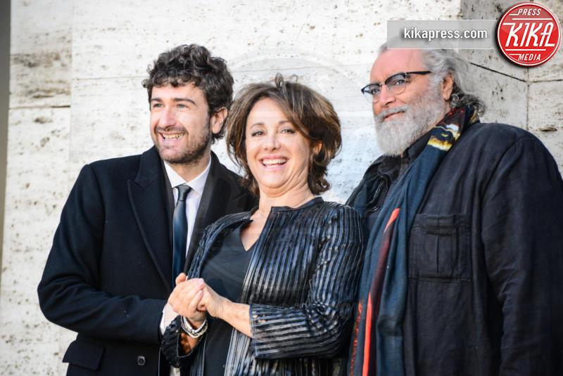 Carla Signoris, Diego Abatantuono, Alessandro Siani - Roma - 28-12-2016 - Mister Felicità ha un nome, Alessandro Siani