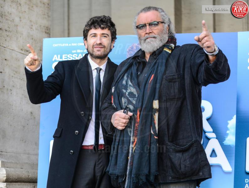 Diego Abatantuono, Alessandro Siani - Roma - 28-12-2016 - Mister Felicità ha un nome, Alessandro Siani