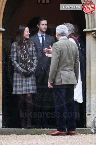 James Matthews, Michael Middleton, Pippa Middleton - Englefield - 25-12-2016 - Pippa Middleton: tutti i numeri del matrimonio (da 300mila euro)