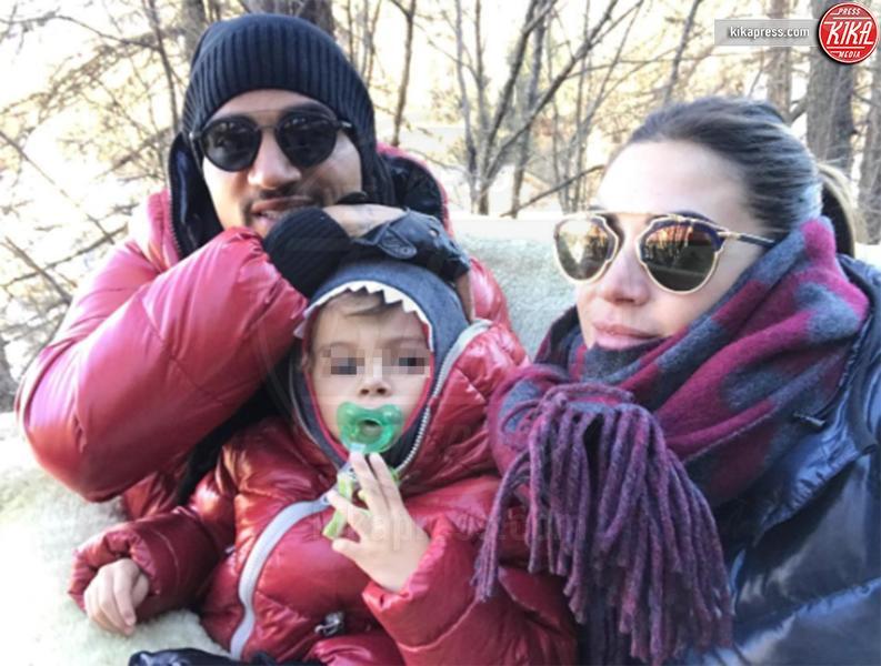 Maddox Boateng, Kevin-Prince Boateng, Melissa Satta - Los Angeles - 29-12-2016 - Auguri Melissa Satta, le curiosita' sulla ex velina