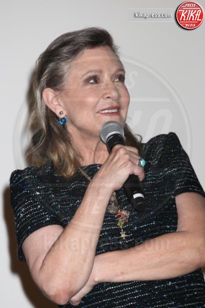Carrie Fisher - Cannes - 16-05-2016 - Carrie Fisher, pubblicato il certificato di morte ufficiale