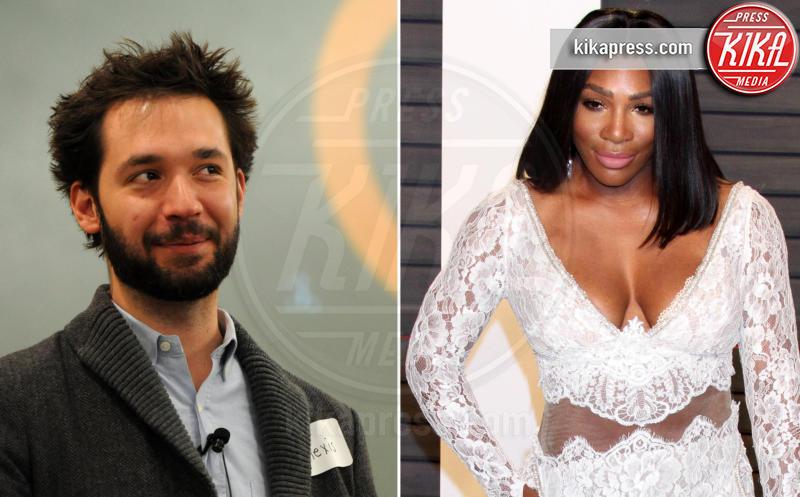 Alexis Ohanian, Serena Williams - 29-12-2016 - Serena Williams è fidanzata: sposerà Alexis Ohanian