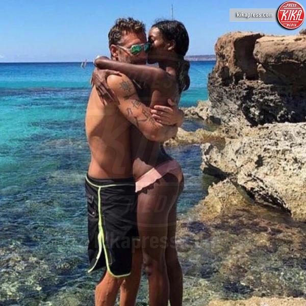Jazzma Kendrick, Christian Vieri - Milano - 30-12-2016 - Bobo Vieri: ecco la sua nuova fidanzata