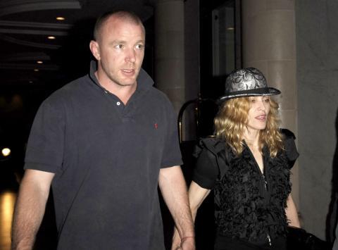 Guy Ritchie, Madonna - Londra - Finisce il matrimonio di Madonna