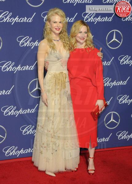 Laura Linney, Nicole Kidman - Palm Springs - 02-01-2017 - Nicole Kidman, elegante ed eterea al Palm Springs Film Festival