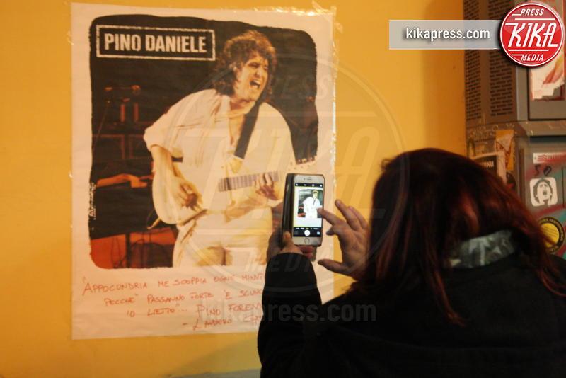 Pino Daniele - Napoli - 04-01-2017 - Pino Daniele, Napoli lo ricorda a due anni dalla scomparsa
