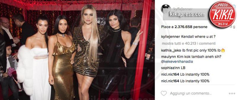 Kylie Jenner, Khloe Kardashian, Kourtney Kardashian, Kim Kardashian - 08-01-2017 - Chi lo indossa meglio? Taylor Swift e Kylie Jenner