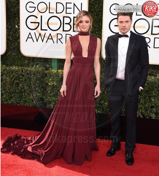 Christine Evangelista, Josh Henderson - Beverly Hills - 08-01-2017 - Golden Globe 2017: va in scena il gioco delle coppie