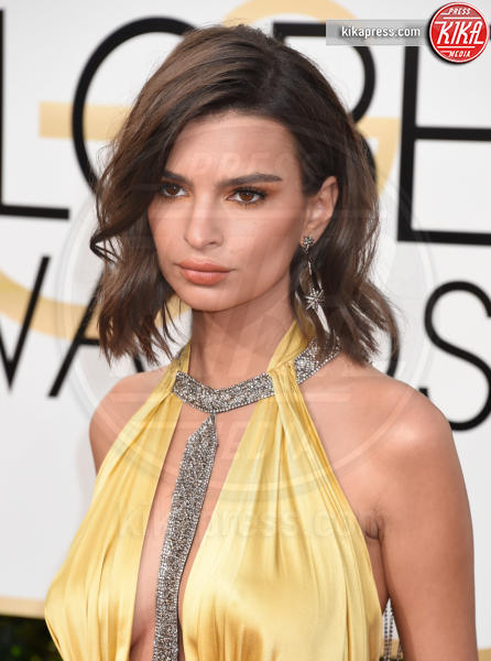 Emily Ratajkowski - Beverly Hills - 08-01-2017 - Golden Globe 2017: il red carpet va preso di petto