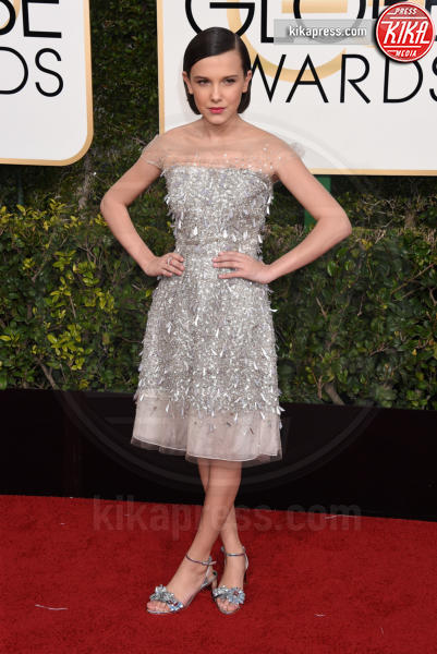 Millie Bobby Brown - Beverly Hills - 08-01-2017 - Golden Globe 2017: gli arrivi sul red carpet