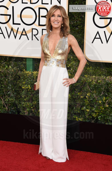 Felicity Huffman - Beverly Hills - 08-01-2017 - Golden Globe 2017: il red carpet va preso di petto