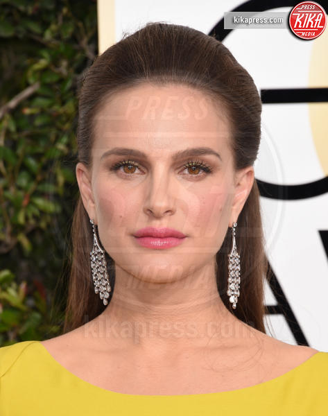 Natalie Portman - Beverly Hills - 08-01-2017 - Golden Globe 2017: gli arrivi sul red carpet