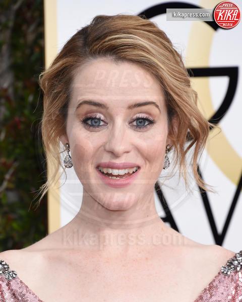 Claire Foy - Beverly Hills - 08-01-2017 - Golden Globe 2017, non solo abiti: ecco le acconciature!