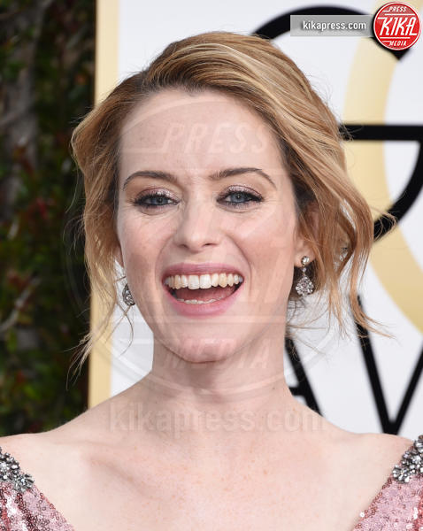 Claire Foy - Beverly Hills - 08-01-2017 - Golden Globe 2017: gli arrivi sul red carpet