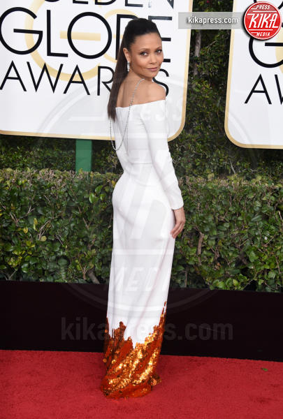 Thandie Newton - Beverly Hills - 08-01-2017 - Golden Globe 2017: gli arrivi sul red carpet