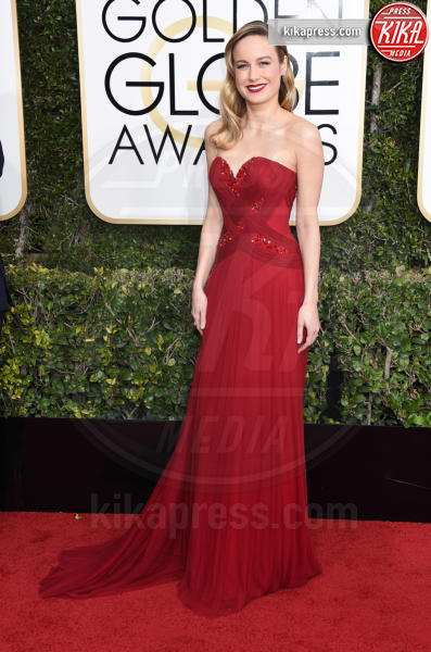 Brie Larson - Beverly Hills - 08-01-2017 - Golden Globe 2017: il red carpet va preso di petto