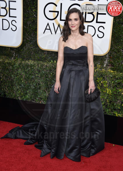Winona Ryder - Beverly Hills - 08-01-2017 - Golden Globe 2017: gli arrivi sul red carpet