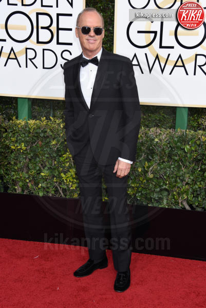 Michael Keaton - Beverly Hills - 08-01-2017 - Golden Globe 2017: gli arrivi sul red carpet