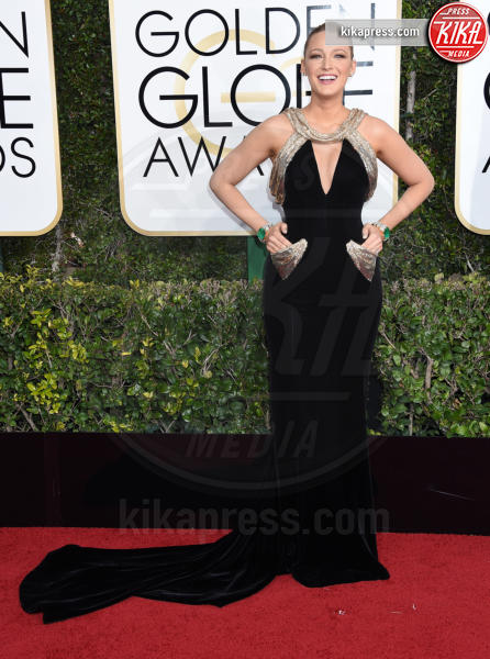 Blake Lively - Beverly Hills - 08-01-2017 - Golden Globe 2017: gli arrivi sul red carpet