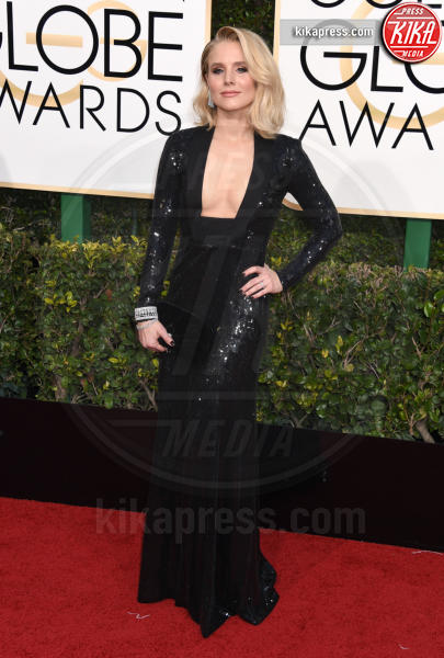 Kristen Bell - Beverly Hills - 08-01-2017 - Golden Globe 2017: il red carpet va preso di petto