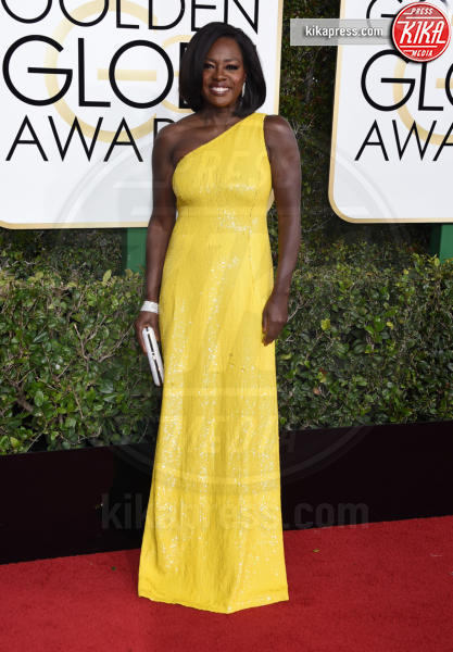 Viola Davis - Beverly Hills - 08-01-2017 - Golden Globe 2017: gli arrivi sul red carpet