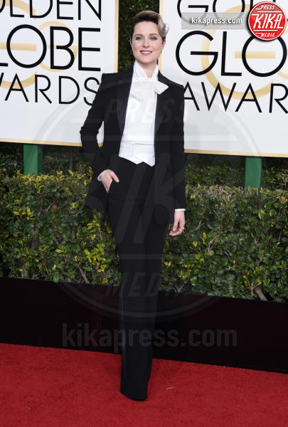 Evan Rachel Wood - Beverly Hills - 08-01-2017 - Golden Globe 2017: gli arrivi sul red carpet