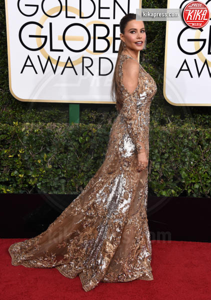 Sofia Vergara - Beverly Hills - 08-01-2017 - Golden Globe 2017: gli arrivi sul red carpet