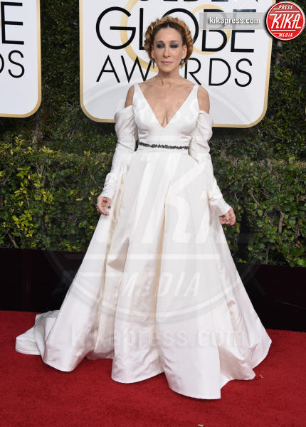 Sarah Jessica Parker - Beverly Hills - 08-01-2017 - Golden Globe 2017: il red carpet va preso di petto