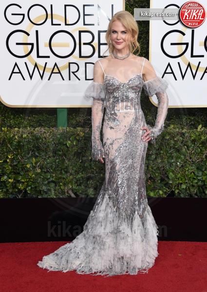 Nicole Kidman - Beverly Hills - 08-01-2017 - Golden Globe 2017: gli arrivi sul red carpet