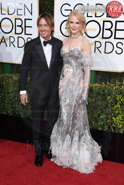 Keith Urban, Nicole Kidman - Beverly Hills - 08-01-2017 - Golden Globe 2017: va in scena il gioco delle coppie