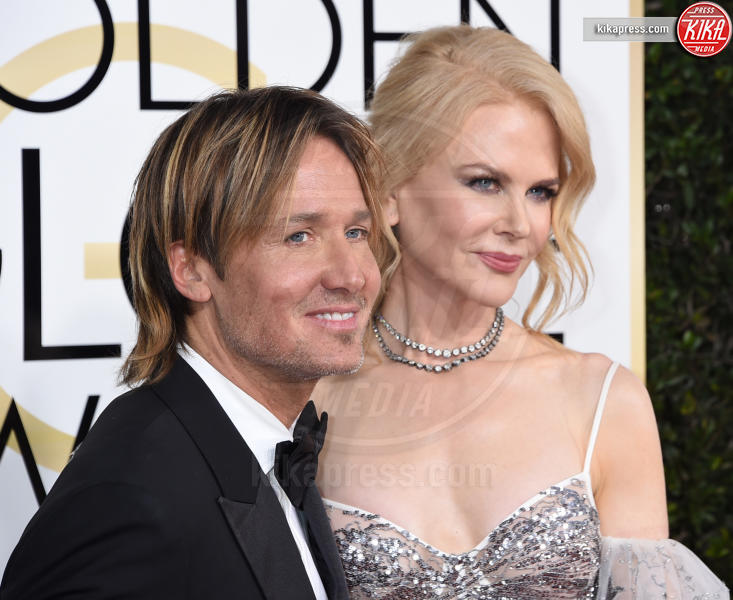 Keith Urban, Nicole Kidman - Beverly Hills - 08-01-2017 - Golden Globe 2017: gli arrivi sul red carpet